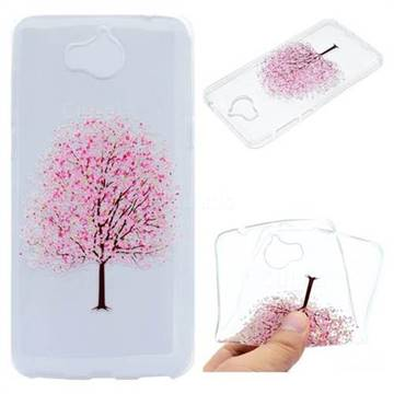 Petals Tree Super Clear Soft TPU Back Cover for Huawei Y5 (2017)