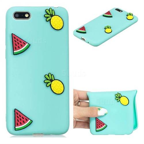 Watermelon Pineapple Soft 3D Silicone Case for Huawei Y5 Prime 2018 (Y5 2018)