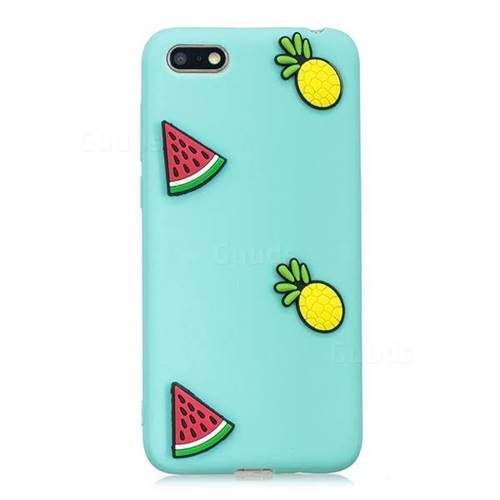 Watermelon Pineapple Soft 3D Silicone Case for Huawei Y5 Prime 2018 (Y5  2018 / Y5 Lite 2018)