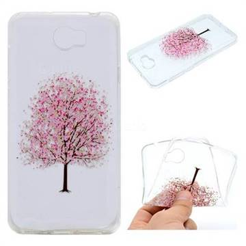 Petals Tree Super Clear Soft TPU Back Cover for Huawei Y5II Y5 2 Honor5 Honor Play 5