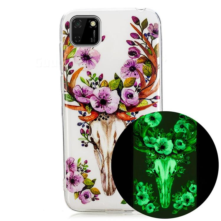 Sika Deer Noctilucent Soft TPU Back Cover for Huawei Y5p