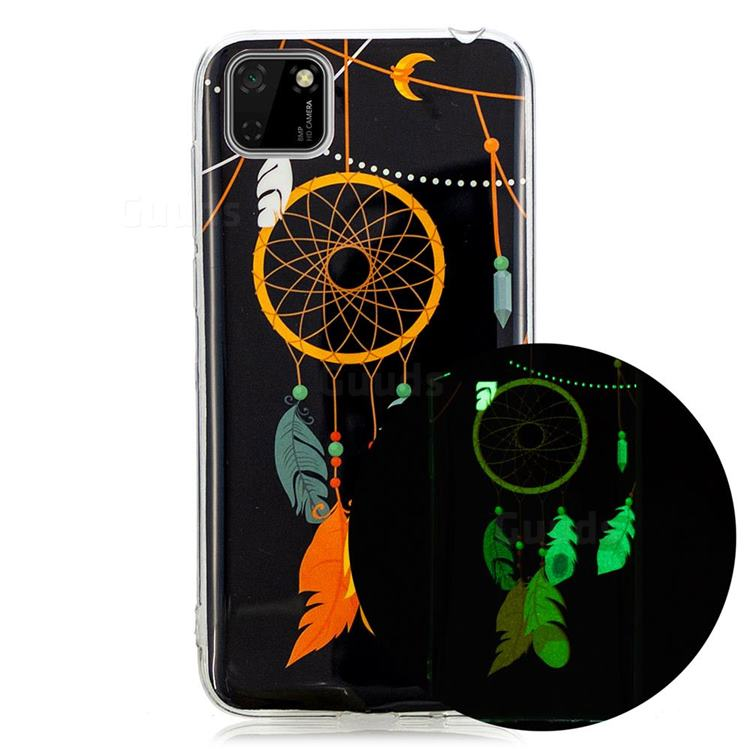 Dream Catcher Noctilucent Soft TPU Back Cover for Huawei Y5p