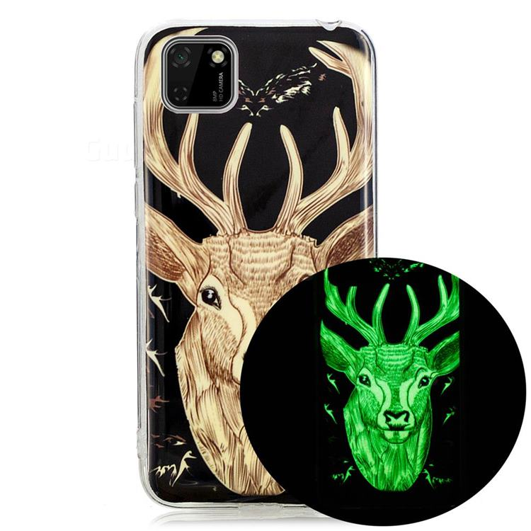 Fly Deer Noctilucent Soft TPU Back Cover for Huawei Y5p