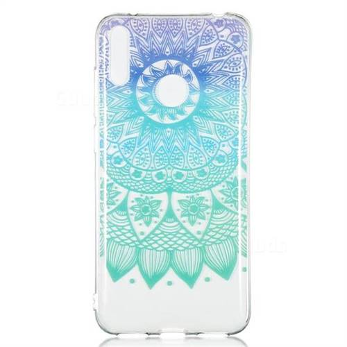 Mandala Wind Chimes Super Clear Soft TPU Back Cover for Huawei Y7(2019) /  Y7 Prime(2019) / Y7 Pro(2019)