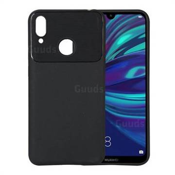 newest collection 58d49 589f3 Carapace Soft Back Phone Cover for Huawei Y7(2019) / Y7 Prime(2019) / Y7  Pro(2019) - Black