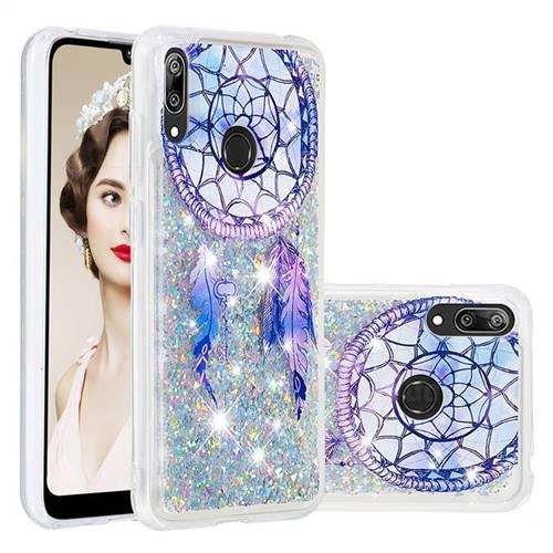 Fantasy Wind Chimes Dynamic Liquid Glitter Quicksand Soft TPU Case for Huawei Y7(2019) / Y7 Prime(2019) / Y7 Pro(2019)