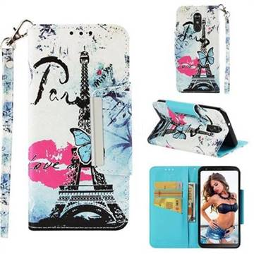 Lip Tower Big Metal Buckle PU Leather Wallet Phone Case for LG Stylo 4