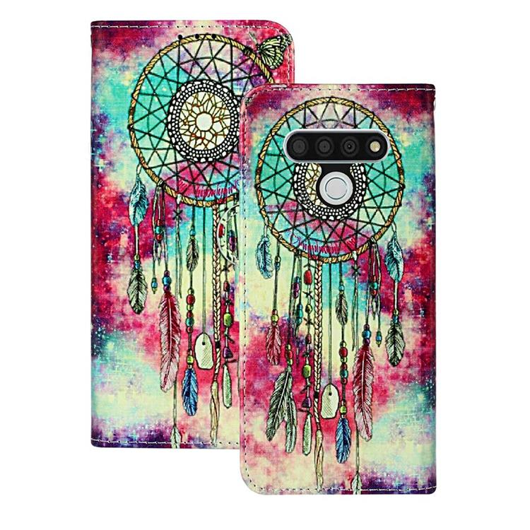 Butterfly Chimes PU Leather Wallet Case for LG Stylo 6