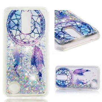 Dynamic Liquid Glitter Quicksand Soft TPU Case for LG K10 2017 - Fantasy Wind Chimes