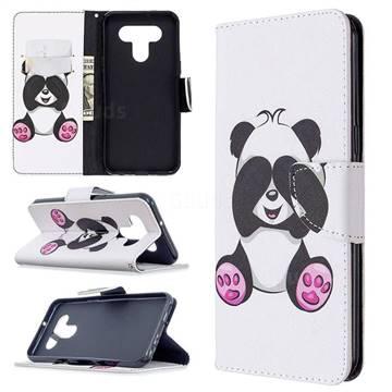 Lovely Panda Leather Wallet Case for LG K51