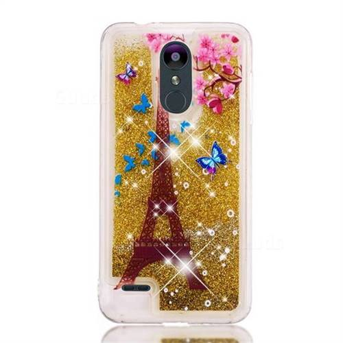 size 40 23578 166c5 Golden Tower Dynamic Liquid Glitter Quicksand Soft TPU Case for LG K8  (2018) / LG K9