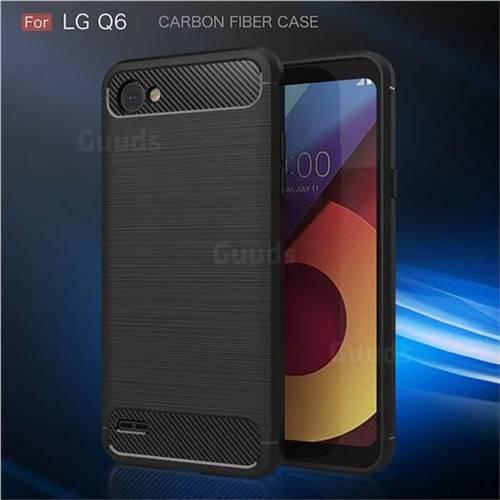 Black IMD Soft TPU Back Cover for LG Q6 (LG G6 Mini)