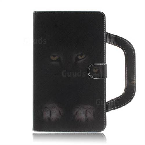 competitive price eed0b c09ba Mysterious Cat Handbag Tablet Leather Wallet Flip Cover for Lenovo Tab3 8  Plus