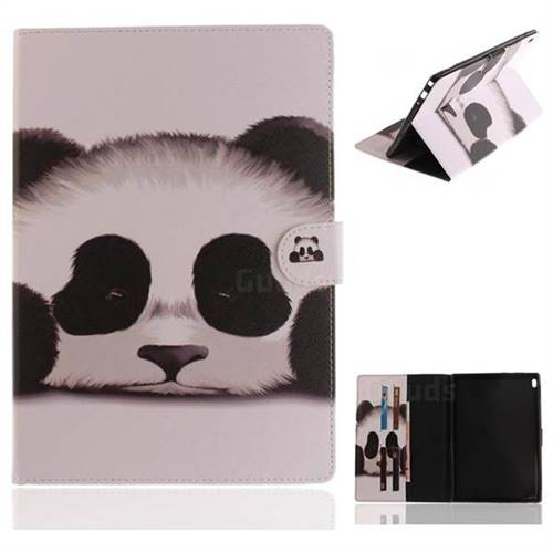 Sleeping Panda Painting Tablet Leather Wallet Flip Cover for Lenovo Tab4 10 (Lenovo TB-X304F/L)