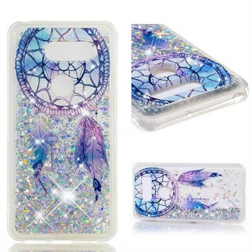 Dynamic Liquid Glitter Quicksand Soft TPU Case for LG V30 - Fantasy Wind Chimes