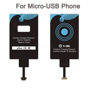 YOGEE Universal Wireless Charger Receiver Qi Receiver for Micro-USB Phone