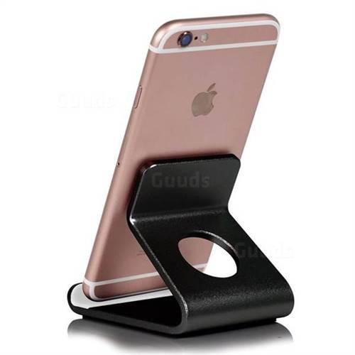 Universal Aviation Aluminum Alloy Mobile Phone Holder - Black