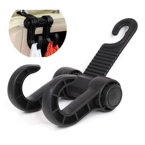 360 rotation Car Vehicle Multi-functional Seat Headrest Bag Hanger Seat Hook Hanging Holder