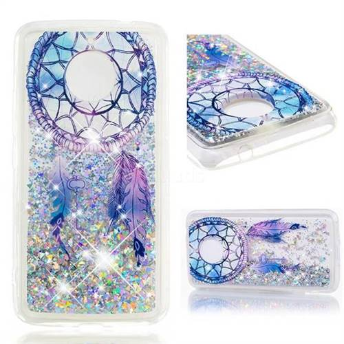 Dynamic Liquid Glitter Quicksand Soft TPU Case for Motorola Moto E4 Plus(Europe) - Fantasy Wind Chimes