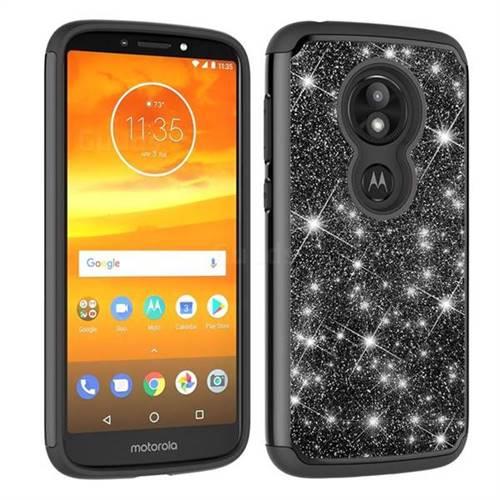 Glitter Rhinestone Bling Shock Absorbing Hybrid Defender Rugged Phone Case Cover For Motorola Moto E5 Play