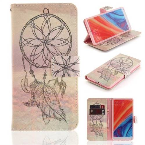 Dream Catcher PU Leather Wallet Case for Xiaomi Mi Mix 2S