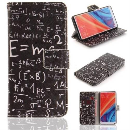 Formula PU Leather Wallet Case for Xiaomi Mi Mix 2S