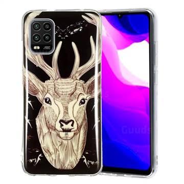 Fly Deer Noctilucent Soft TPU Back Cover for Xiaomi Mi 10 Lite