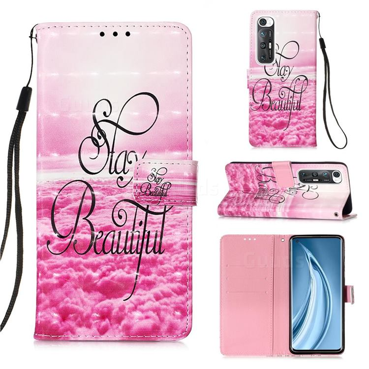 Beautiful 3D Painted Leather Wallet Case for Xiaomi Mi 10S