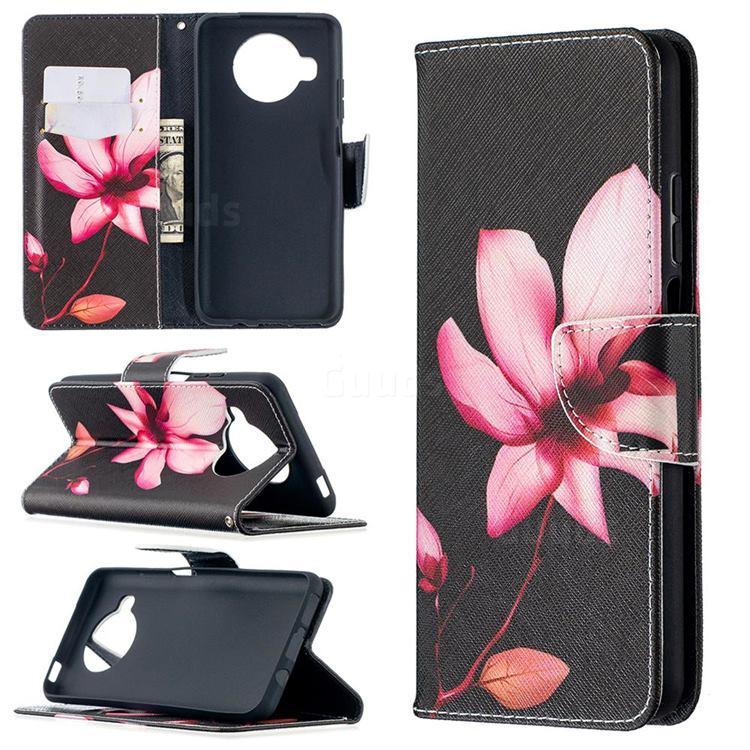 Lotus Flower Leather Wallet Case for Xiaomi Mi 10T Lite 5G
