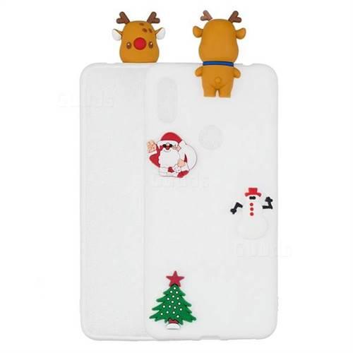 White Elk Christmas Xmax Soft 3D Silicone Case for Xiaomi Mi A2 (Mi 6X)