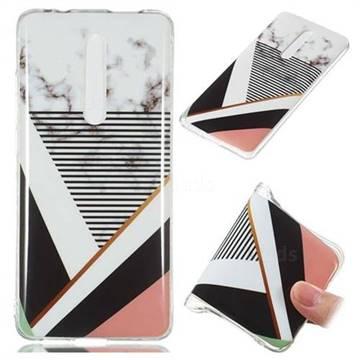 Pinstripe Soft TPU Marble Pattern Phone Case for Xiaomi Redmi K20 / K20 Pro