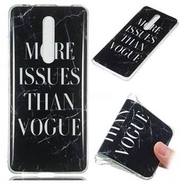 Stylish Black Soft TPU Marble Pattern Phone Case for Xiaomi Redmi K20 / K20 Pro