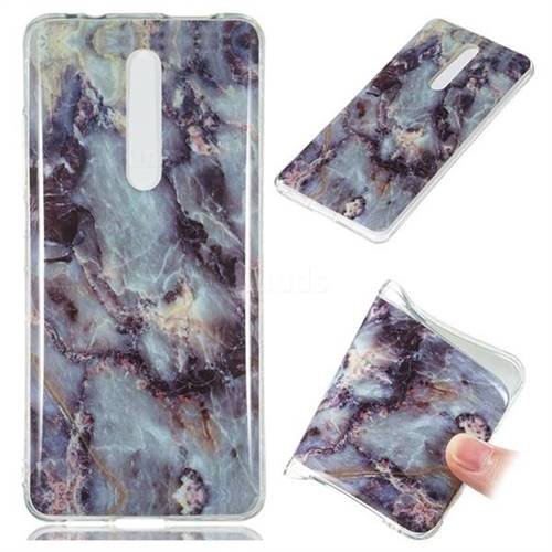 Rock Blue Soft TPU Marble Pattern Case for Xiaomi Redmi K20 / K20 Pro