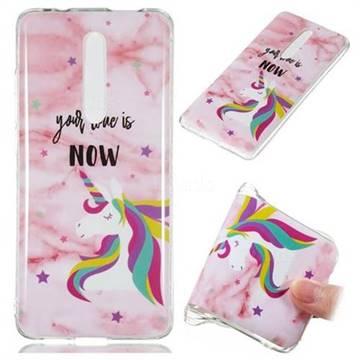 Unicorn Soft TPU Marble Pattern Phone Case for Xiaomi Redmi K20 / K20 Pro