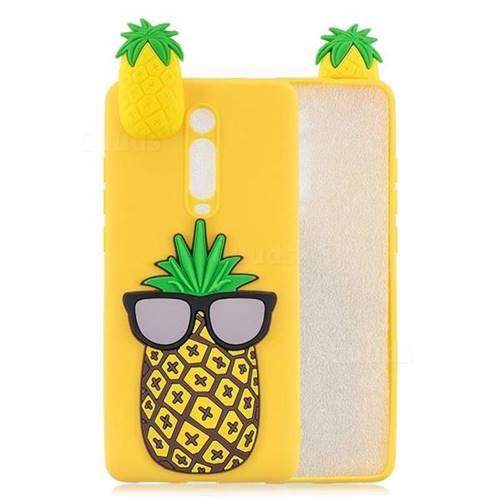 Big Pineapple Soft 3D Climbing Doll Soft Case for Xiaomi Redmi K20 / K20 Pro
