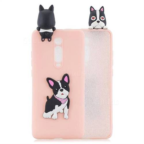 Cute Dog Soft 3D Climbing Doll Soft Case for Xiaomi Redmi K20 / K20 Pro