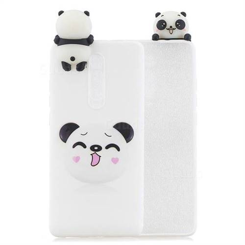 Smiley Panda Soft 3D Climbing Doll Soft Case for Xiaomi Redmi K20 / K20 Pro