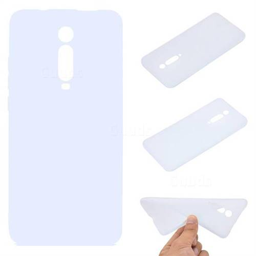 Candy Soft TPU Back Cover for Xiaomi Redmi K20 / K20 Pro - White