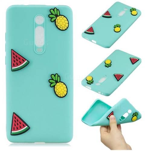 Watermelon Pineapple Soft 3D Silicone Case for Xiaomi Redmi K20 / K20 Pro
