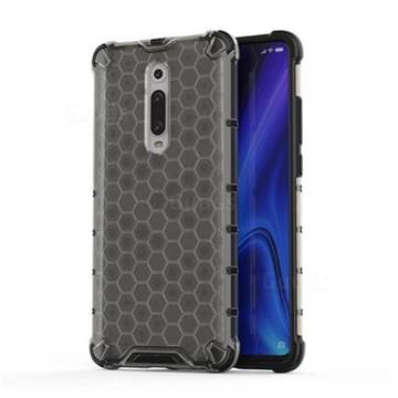 Honeycomb TPU + PC Hybrid Armor Shockproof Case Cover for Xiaomi Redmi K20 / K20 Pro - Gray