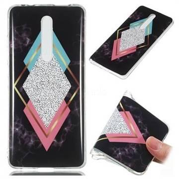 Black Diamond Soft TPU Marble Pattern Phone Case for Xiaomi Redmi K20 Pro