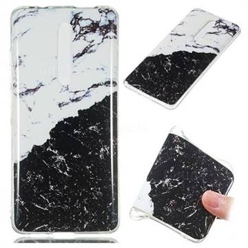 Black and White Soft TPU Marble Pattern Phone Case for Xiaomi Redmi K20 Pro
