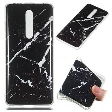 Black Rough white Soft TPU Marble Pattern Phone Case for Xiaomi Redmi K20 Pro