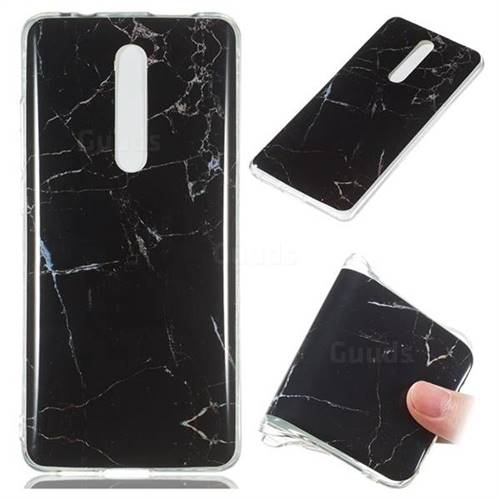 Black Soft TPU Marble Pattern Case for Xiaomi Redmi K20 Pro
