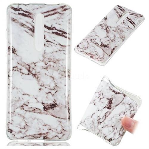 White Soft TPU Marble Pattern Case for Xiaomi Redmi K20 Pro