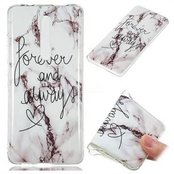 Forever Soft TPU Marble Pattern Phone Case for Xiaomi Redmi K20 Pro
