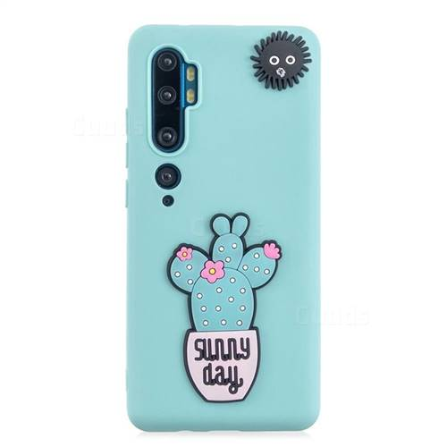 Cactus Flower Soft 3D Silicone Case for Xiaomi Mi Note 10 / Note 10 Pro / CC9 Pro