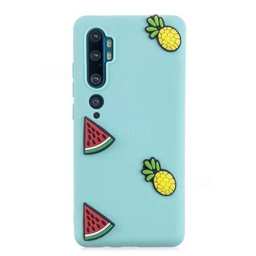 Watermelon Pineapple Soft 3D Silicone Case for Xiaomi Mi Note 10 / Note 10 Pro / CC9 Pro