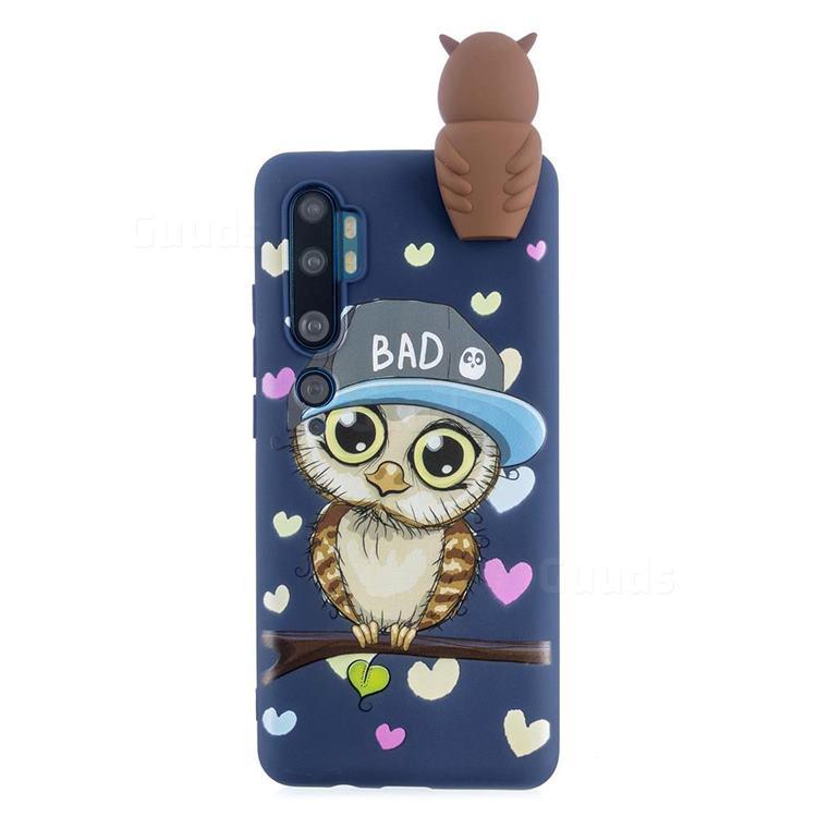 Bad Owl Soft 3D Climbing Doll Soft Case for Xiaomi Mi Note 10 Lite