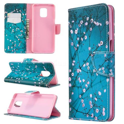 Blue Plum Leather Wallet Case for Xiaomi Redmi Note 9s / Note9 Pro / Note 9 Pro Max